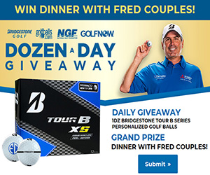 Fred Couples Giveaway